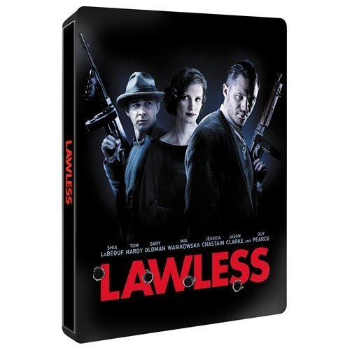 Lawless Rare UK Blu-Ray Steelbook Edition Limited to 4,000 Copies Region B