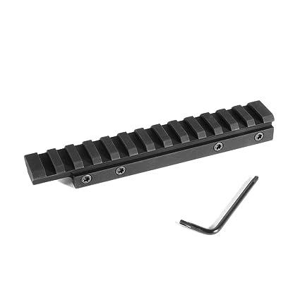 Evolution Gun Works HD CZ 452, 453, 455, 511 For 11mm Picatinny Rail Mount  0 MOA