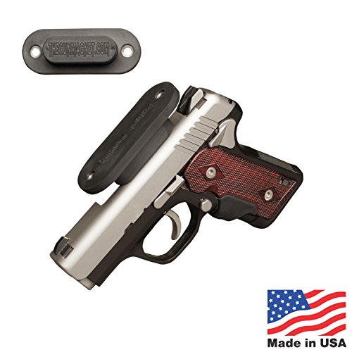 Rating Safe (Gun Magnet with 25 lb Rating, Made in America, Gun Mount & Holster for Guns Home, Car, Gun Safe, Tactical & Concealed Carry)