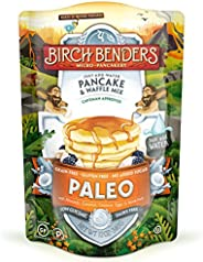 Paleo Pancake and Waffle Mix by Birch Benders, Low-Carb, High Protein, High Fiber, Gluten-free, Low Glycemic,