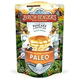 Paleo Pancake & Waffle Mix by Birch Benders, Low-Carb, High Protein, High Fiber, Gluten-free, Low Glycemic, Prebiotic, Keto-Friendly, Made with Cassava, Coconut & Almond Flour, 12 oz Larger Image