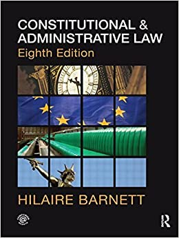 Book Law Core Textbook Bundle: Constitutional & Administrative Law by Hilaire Barnett (2010-08-28)