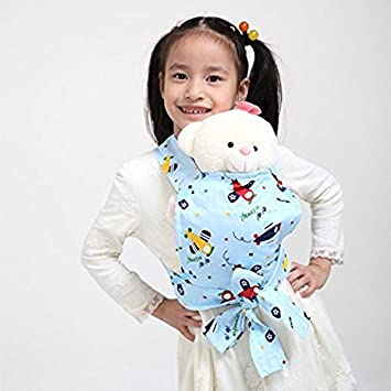7fec5ec61f4 Amazon.com   Sigzagor Baby Doll Carrier Mei Tai Sling Toy For Kids Children  Toddler Front Back