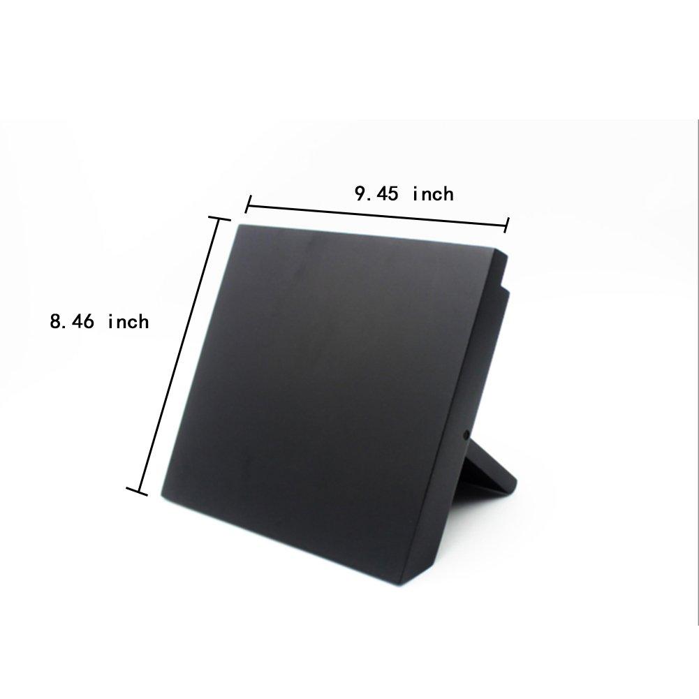 Liitrton Magnetic Knife Block Foldable Cutting Board Storage Rack Chopping Board Knife holder (Black) by Liitrton (Image #2)