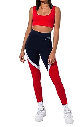 c47eb0ea625b8 FILA Ivanna High Waist Leggings at Amazon Women's Clothing store:
