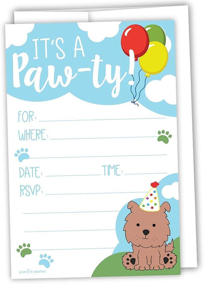 Pet Celebrations Doggie Birthday Puppy Dog Birthday Card Pet Birthday Party Card Dog Lovers Birthday Card Pampered Pooch Birthday Card