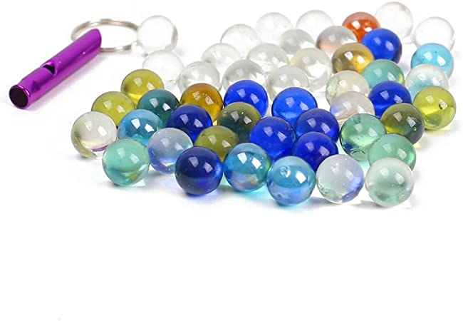 20 CLEAR  SMALL natural glass colour PLAYING MARBLES glass marbles