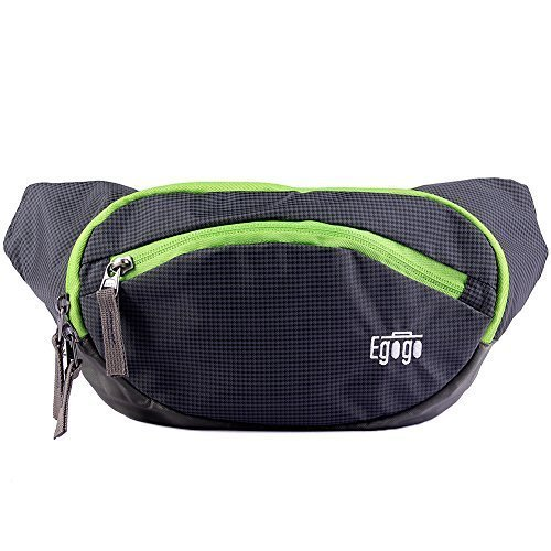 (EGOGO Travel Sport Fanny Pack Waist Bag S2316 (Army Green) )