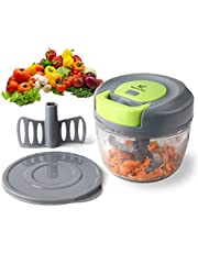 MagicLux Tech Mini Chopper Food Pull Processor/Vegetable Slicer/Dicer/Mincer