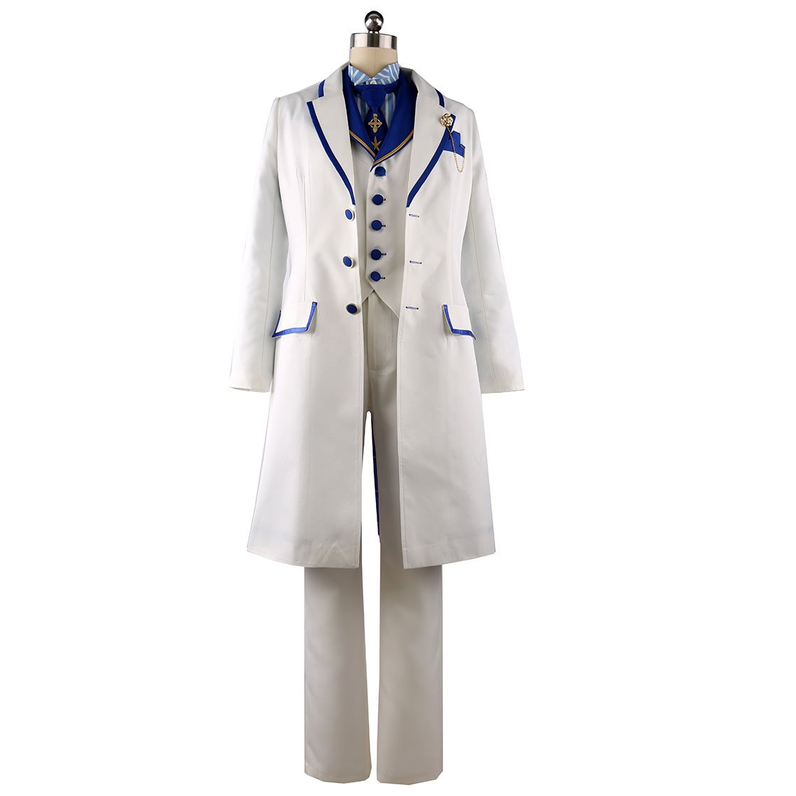 cnstone コスプレ衣装 白亜の薔薇 ホワイトローズ アーサーペンドラゴン 風 コスプレ服 コスチューム イベント パーティー 変装 仮装 (女性S) B07CHHYC44  女性XL 女性XL