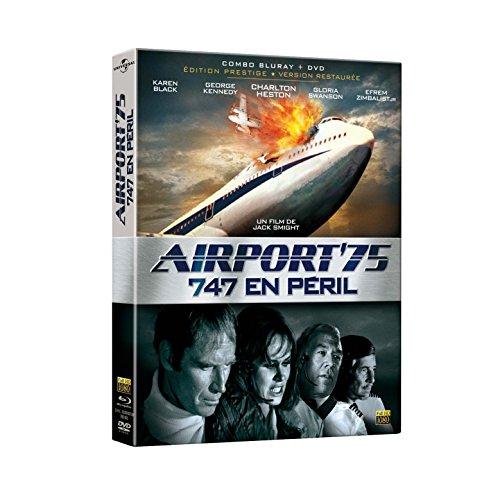 Combo Airport (Airport '75 ( Airport 1975 ) ( Airport Nineteen Seventy Five ) (Blu-Ray & DVD Combo) [ Blu-Ray, Reg.A/B/C Import - France ])