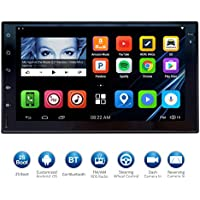 ATOTO 7HD Touchscreen 2Din Android Car Navigation Stereo - Quadcore Car Entertainment Multimedia w/ FM/RDS Radio,WIFI,BT,Mirror Link,and more(No DVD Player)M4171 (178101/16G)