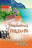 A Treacherous Treasure (Mooseamuck Island Cozy Mystery Series Book 3)
