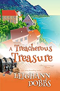 A Treacherous Treasure by Leighann Dobbs ebook deal