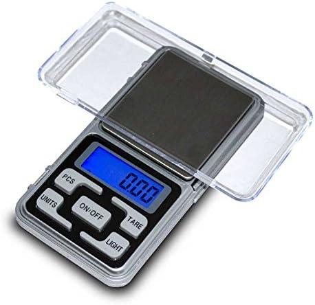 OcioDual Balanza Digital de Precisión Portátil Ultraligera Luminosa Hasta 200 gr Intervalo 0.01 gr