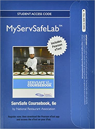 New myservsafelab with pearson etext access card for servsafe new myservsafelab with pearson etext access card for servsafe coursebook myservsafelab access codes 6th edition fandeluxe