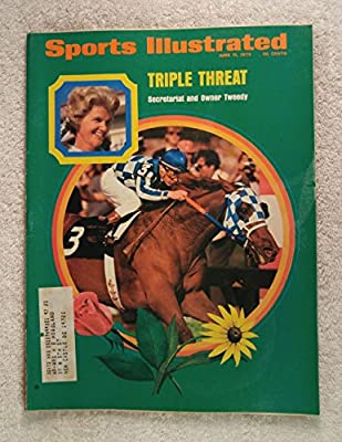 Triple Threat - Secretariat and Owner Tweedy - Triple Crown Winner! - Sports Illustrated - June 11, 1973 - Horse Racing - 1973 Kentucky Derby Winner - SI