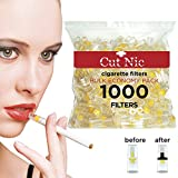 Cut-Nic 4 HOLE Disposable Cigarette Filters - Bulk Economy Pack (1000 Per Pack)