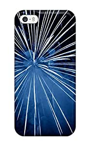 Durable Fireworks Back Case/cover For Iphone 5/5s