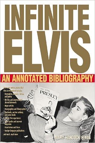 Resultado de imagem para INFINITE ELVIS - An Annotated Bibliography 2001