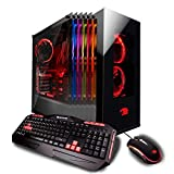 iBUYPOWER Pro Gaming Desktop PC ELEMENT003i Intel i7-8700K 3.7 GHz, NVIDIA Geforce GTX 1080 8GB, 16GB DDR4 RAM, 2TB HDD, 480GB SSD, Liquid Cooled, 802.11AC WiFi, Win 10 Home, VR Ready
