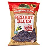 Garden of Eatin' Corn Tortilla Chips Red Hot Blues 8.1 oz (4 Pack)