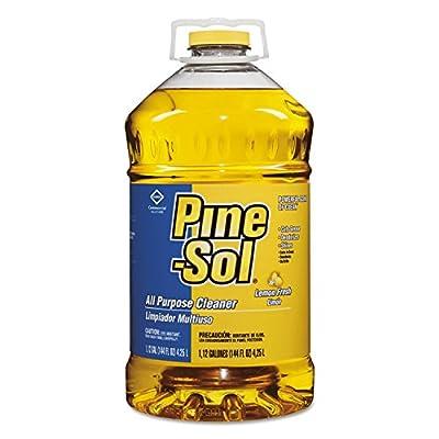 Pine-Sol 35419CT All-Purpose Cleaner, Lemon, 144 oz (Case of 3)