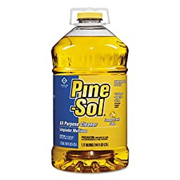 Pine-Sol 35419CT All-Purpose Cleaner, Lemon, 144 oz (Case of 3)