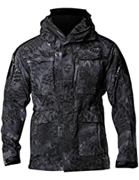 100% Quality 2018 Male M65 Military Camouflage Trench Men Jungle Camo Windproof Hooded Coat Outdoor Hiking Hunting Outwear Windbreaker High Standard In Quality And Hygiene Camping & Hiking Hiking Clothings