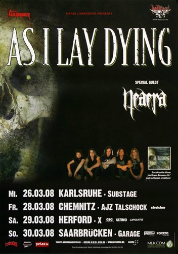 as i lay dying münchen