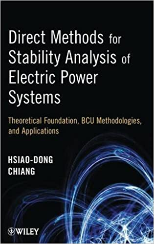 ??VERIFIED?? Direct Methods For Stability Analysis Of Electric Power Systems: Theoretical Foundation, BCU Methodologies, And Applications. cancion learn oficina Barcos square areas