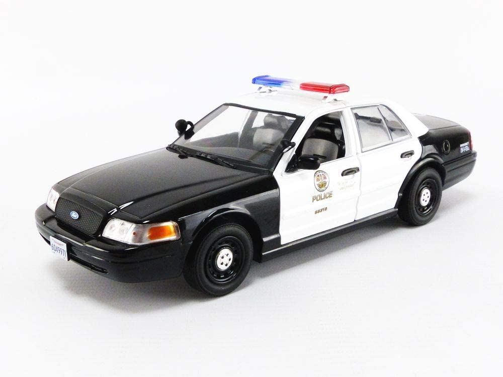 Greenlight 84111 The Rookie 2008 Ford Crown Victoria Police Interceptor Los Angeles Police Department Lapd Maßstab 1 24 Spielzeug