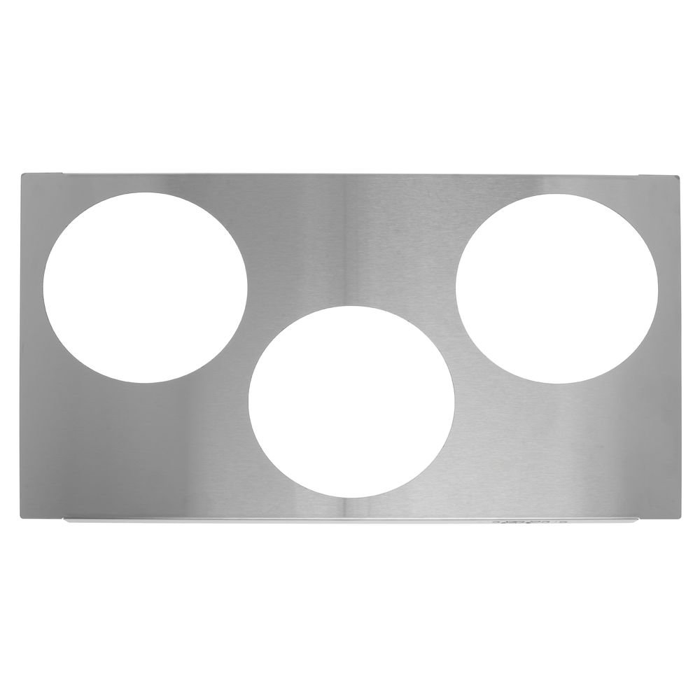 Vollrath (72228) 6-1/2'' Three Hole Adapter Plate for Warmer