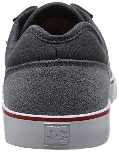 Tonik Grey Red Skate Men's Grey Shoe DC 7wO5TXqx