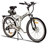 X-treme X-Cursion Folding Electric Mountain Bicycle - Lithium Powered