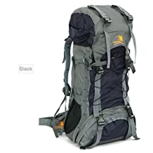 60L Waterproof Durable Outdoor Climbing Backpack Bag Women & Men Hiking Athletic Sport Travel Backpack High Quality