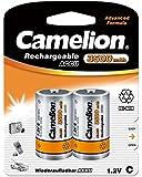 Camelion - Lot de 2 Accu Rechargeable NiMh Baby C 3500 mAh 1,2V