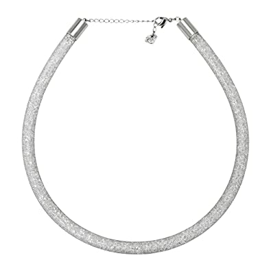 2c17619d9a06 Image Unavailable. Image not available for. Color  Swarovski Stardust  Deluxe Ladies Necklace 5180944