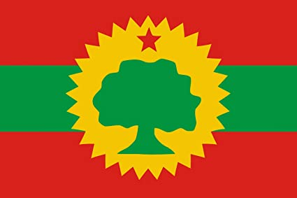 magFlags Large Flag Oromo Liberation Front OLF | Landscape Flag | 1 35qm |  14 5sqft | 90x150cm | 3x5ft - 100% Made in Germany - Long Lasting Outdoor