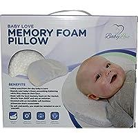 Baby Head Shaping Memory Foam Pillow & Bamboo Pillowcase. KEEP an Infant's he...