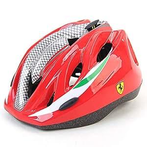Amazon.com: MESUCA Ferrari - Casco deportivo ajustable para ...