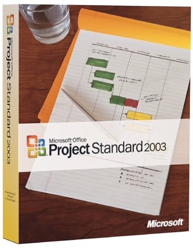 Microsoft Project 2003 Standard [OLD VERSION] by Microsoft