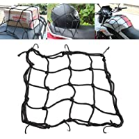 SMA Motorcycle Cargo 6 Hooks Hold Down Net Bungee