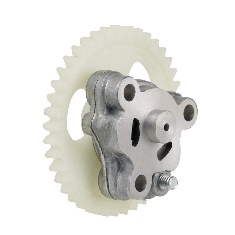 Nicecnc ATV Oil Pump Assembly Replace Yamaha Warrior 350 1987-2004,Big Bear 350 1987-1999,Moto 4 1987-1995,Terra Pro 350 1988