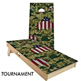 Camo USA Cornhole Board Set 4' by 2' Tournament size