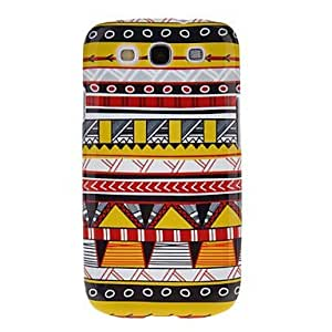 Graphics Triangle Pattern Protective Hard Back Cover Case for Samsung Galaxy S3 I9300