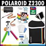 Polaroid Z2300 10MP Digital Instant Print Camera ACCESSORY KIT: with 16GB Card + Pouch + Tripod + Zink Paper (60 Pack ) + Straps + Accessory Kit