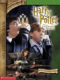 Harry Potter The Chamber Of Secrets Art Coloring Book 4