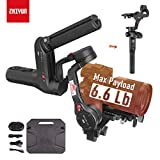 Zhiyun WEEBILL LAB 3-Axis Gimbal for Mirrorless and DSLR Cameras Like Sony A6300 A6500 A7 GH5, Wireless Image Transmission, ViaTouch Control, Max 6.6 Lbs Payload (Standard Package 2019 New)
