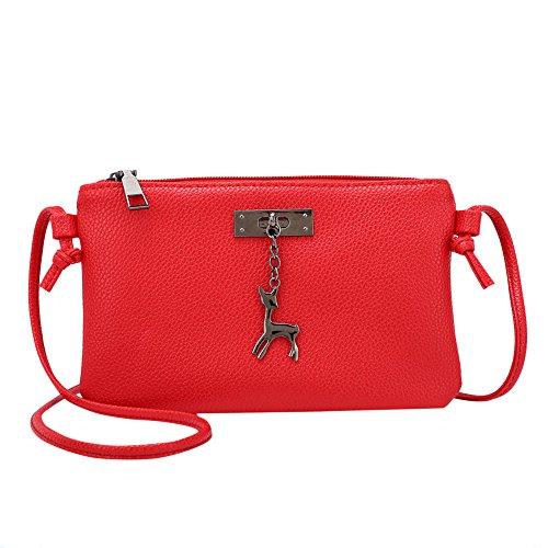Womens Bag Coin bag Bags Bags Deer Crossbody Leather Bag Messenger Shoulder Sale Small Bags Women OHQ Women naw6XUZX